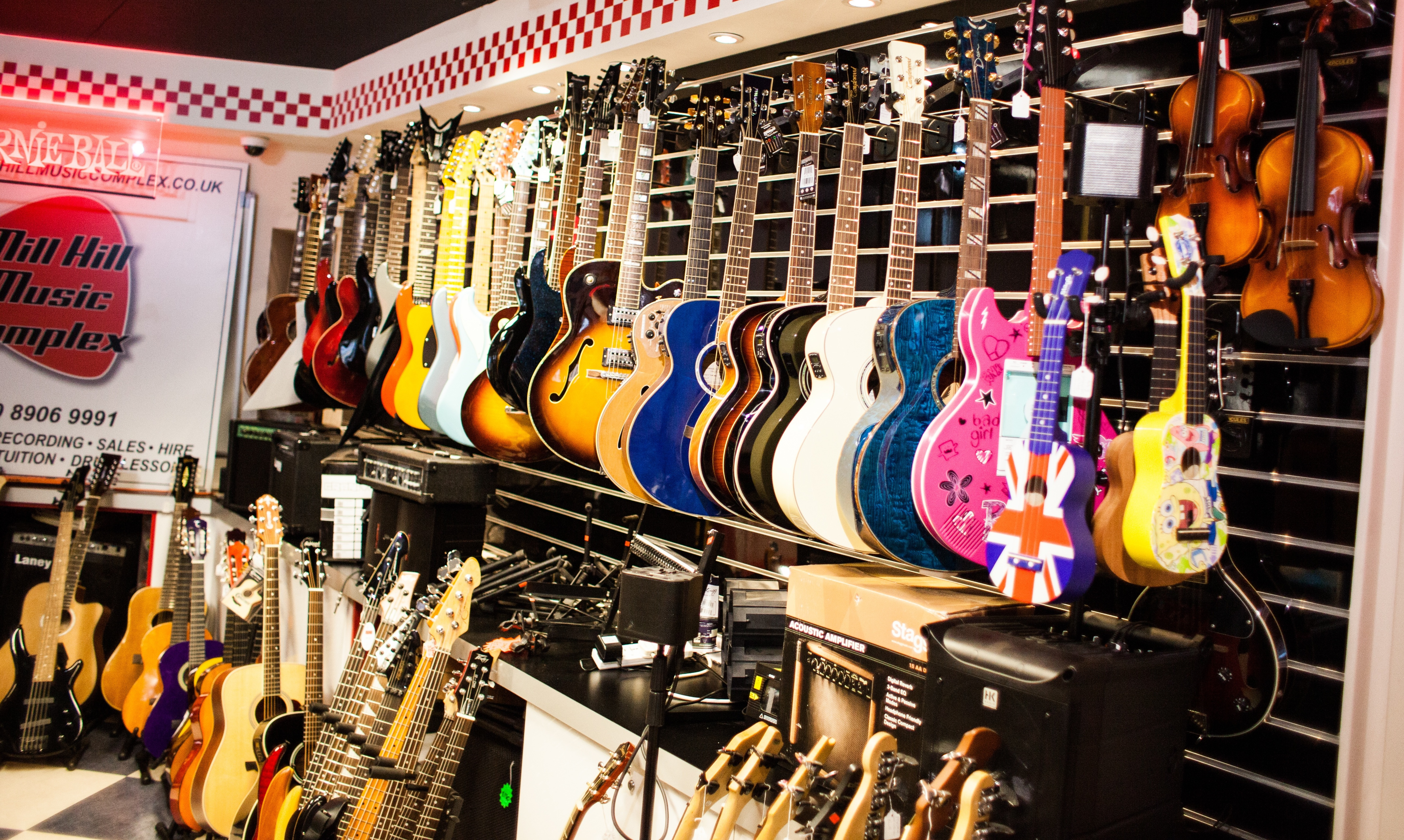 your local music shop in mill hill for guitars ukuleles. Black Bedroom Furniture Sets. Home Design Ideas