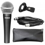 Studiomaster KM92 Dynamic Vocal Microphone + Cable, Case & Clip
