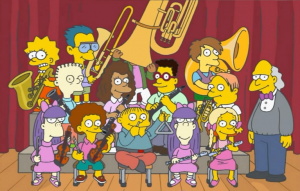 simpsons school band 1
