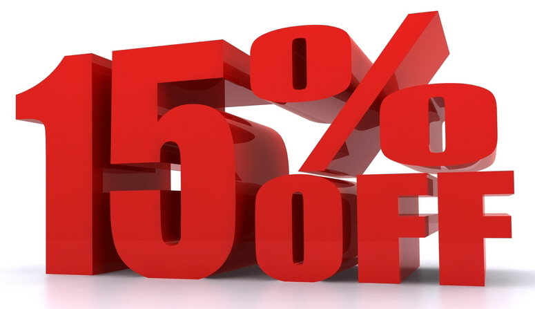 Image result for 15% Off