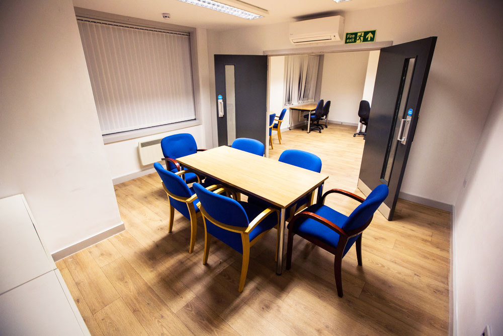 Need meeting space or a desk for the day? - Mill Hill Music Complex
