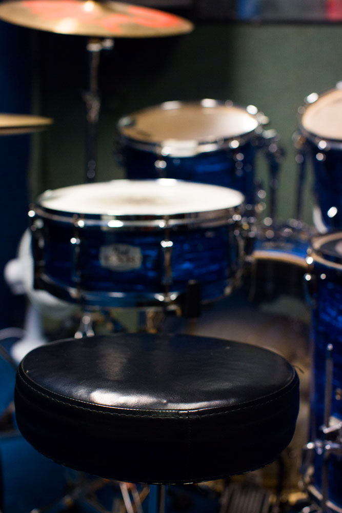 Central London Rehearsal Room Drum Shop