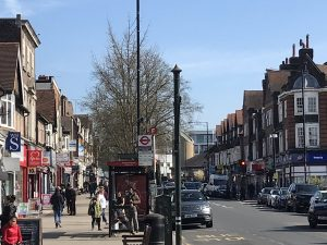 Shops And Restaurants In Mill Hill