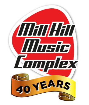 Mill Hill Music Complex Logo - 40 years